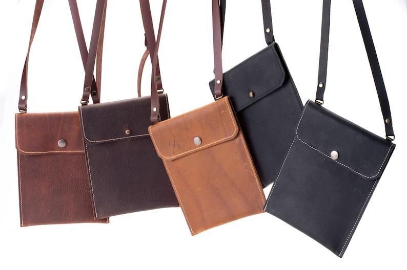Tiny Phone Bag  Kodiak Leather image 0