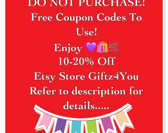 Coupons etsy do not purchase not for sale free to use etsy discounts codes coupon codes save at check out online coupons au fandeluxe Choice Image
