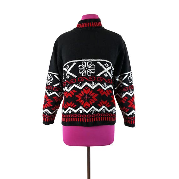 South Lodge Black Angora Wool Cardigan Jacket with diamante and black beadingRetro CardiganVintage CardiganSize ML