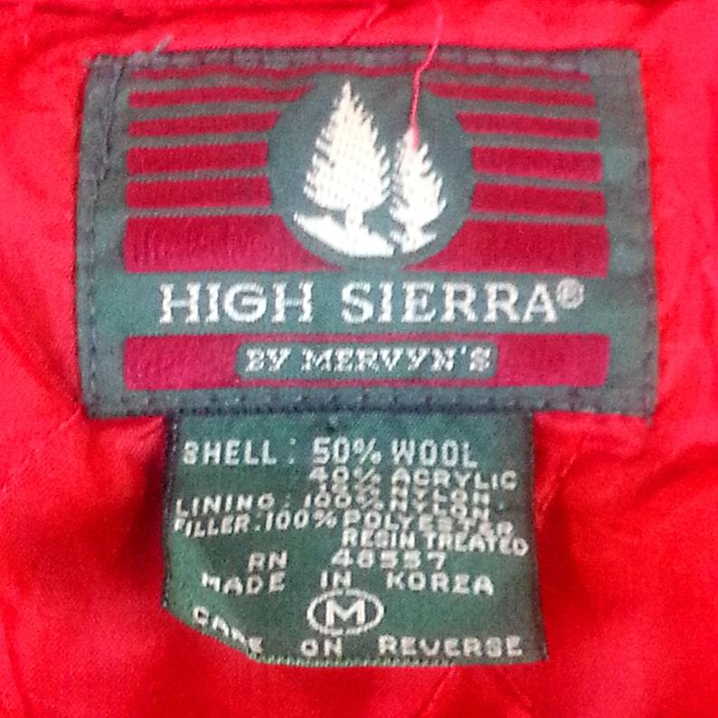 643cc87d997b8 Red Blue Plaid Shirt Medium   wool blend men s clothing
