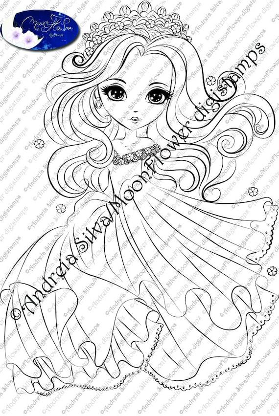 Kleurplaten Dansende Prinses.Lilly De Dansende Prinses Etsy