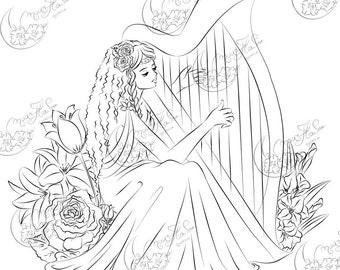 Harp Maiden