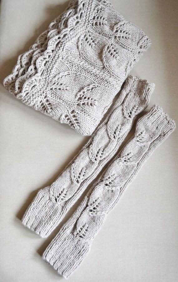 guantes largos sin dedos largos calentadores de brazo guantes   Etsy
