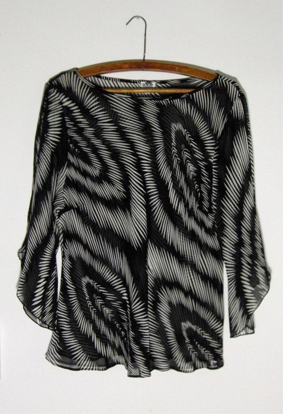 Blouse Bohemian Blouse, Scrunchie Vintage Blouse Gipsy shirt Vintage shirt Shirt Boho Blouse Boho Crop Blouse