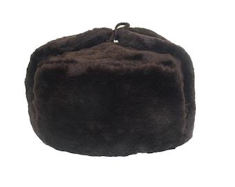 48cc9ec5319 Russian Winter Hat Ushanka BROWN