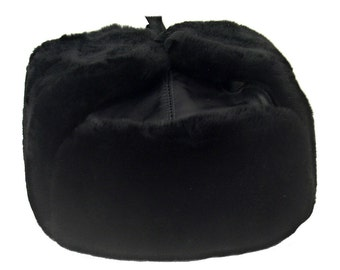 d4cbc2c5288 Genuine Sheepskin Russian Officer Winter Hat-Ushanka