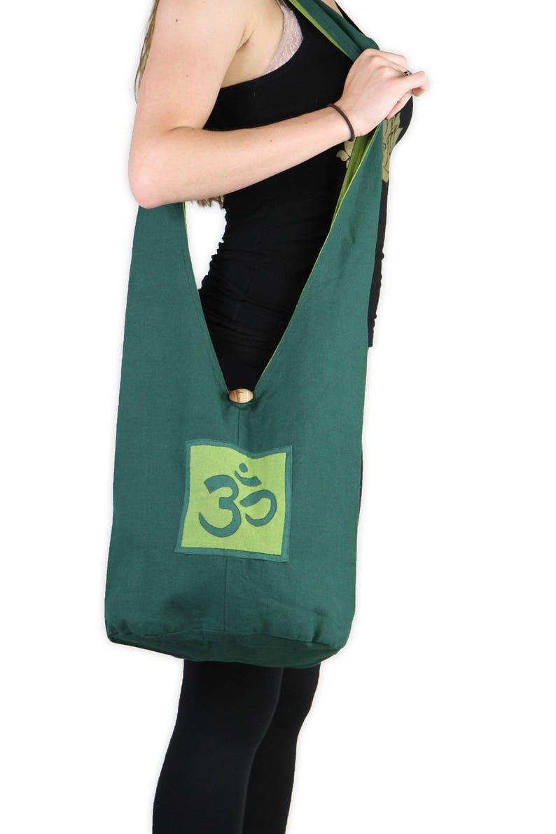 Yoga Tote Bag Boho Shoulder Bag Cross Body Bag Bohemian image 0