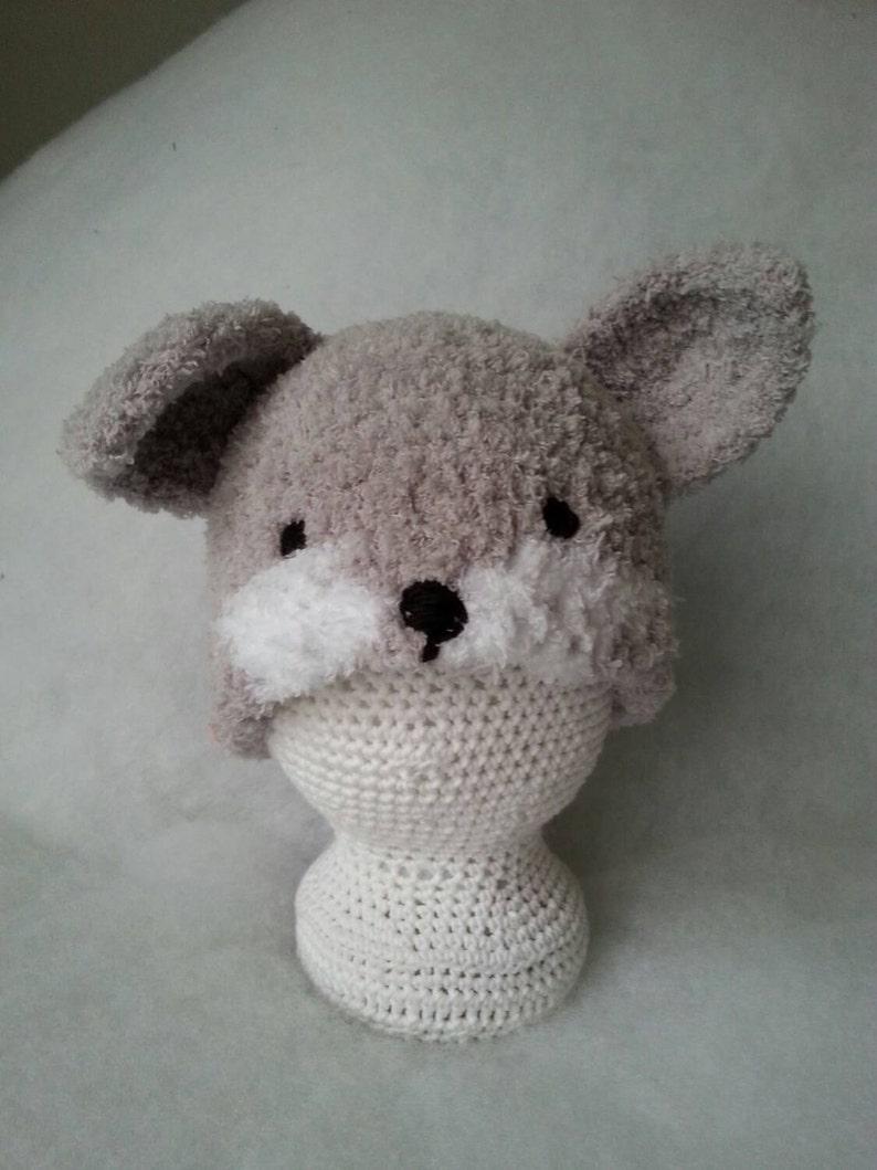Silver Fox Stuffed Animal, Silver Fox Hat Woodland Animal Hat Photo Prop Hat Baby Etsy