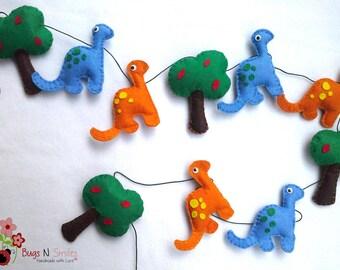 Dinosaur garland   Etsy