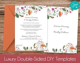 Fall Themed Invitation Template