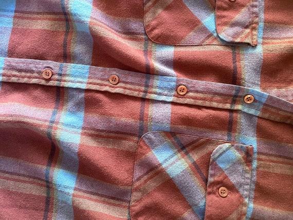 Vintage Coleman Flannel Shirt - Vintage Flannel B… - image 4