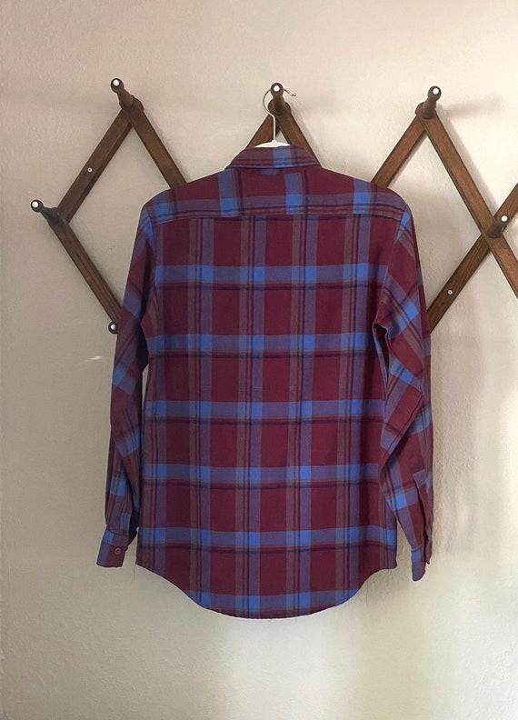 Vintage Coleman Flannel Shirt - Vintage Flannel B… - image 2