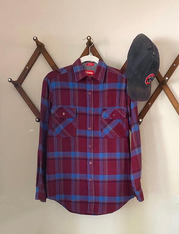 Vintage Coleman Flannel Shirt - Vintage Flannel B… - image 1
