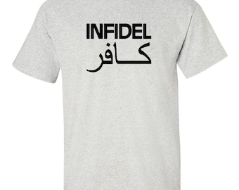 fb12de2da3278 Infidel t shirt | Etsy