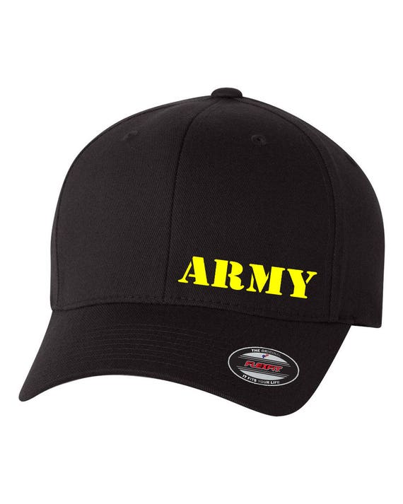 eb0fee7ab58 Us ARMY Flex Fit Hat CURVED Bill Free Shipping in