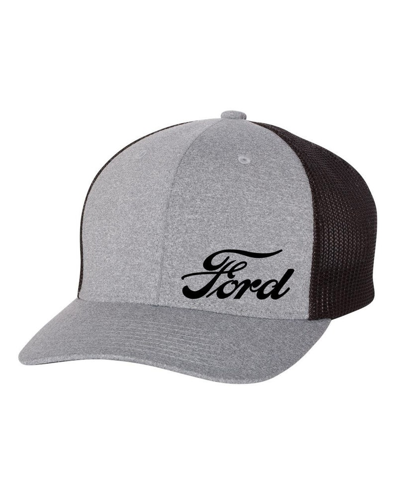 67268cf70 FORD Motor Trucker Flex Fit Hat **ROUND Bill** ***Free Shipping in BOX***
