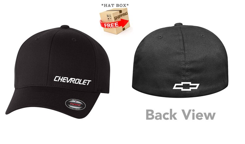 cf86c17c0 CHEVY Chevrolet Flex Fit Hat **CURVED Bill** ***Free Shipping in BOX***