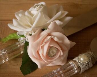 Elegant Chic cake knife set