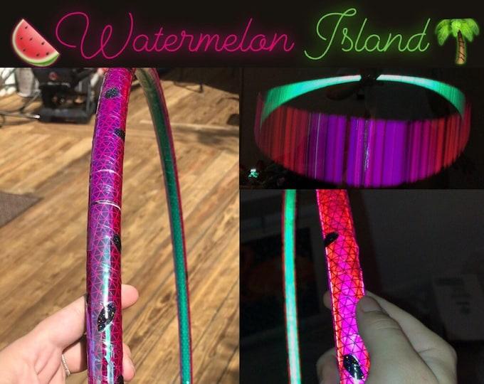 Watermelon Island Reflective Polypro Hoop