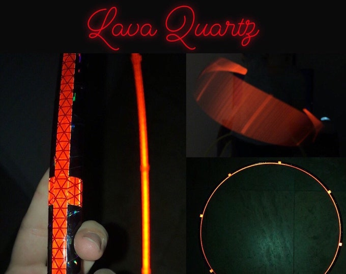 Lava Quartz Reflective Hoop (Polypro, 5/8th and 3/4th)
