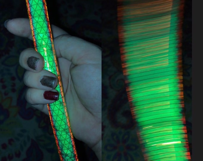 UV Firefly Reflective Hula Hoop (Polypro, 3/4th and 5/8th)