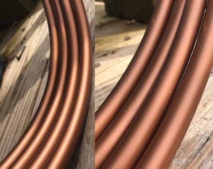 Copper Metallic Hula Hoop (Polypro, 5/8th)