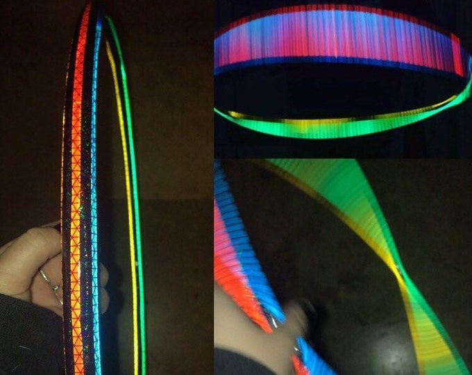 Featured listing image: Asteroid Flare Reflective Hoop (Polypro, 3/4th and 5/8th)