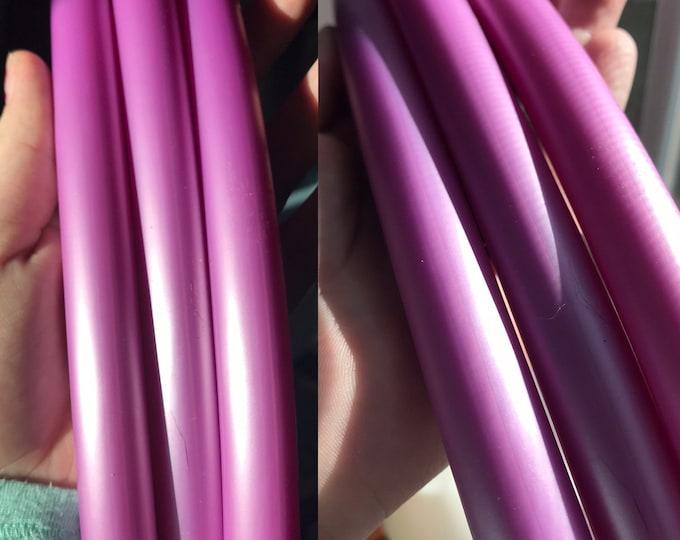 Metallic Lavender Hula Hoop (Polypro, 5/8th)