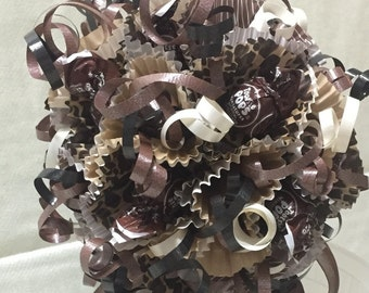 Lollipop/Candy Bouquet - Leopard Print