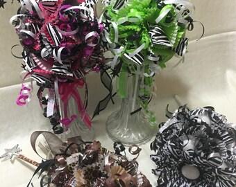 Lollipop/Candy Bouquet - Animal Prints