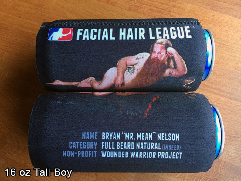 Limited Edition FHL Neoprene Tall Boy Can Cooler Mean Nelson Bryan Mr