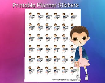 Planner Stickers,Printable planner stickers