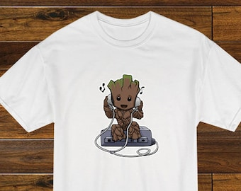 e9939891 Groot - Baby Groot Musical onesie tshirt - Guardians of the Galaxy - I am  Groot - Groot shirt - Music shirt - Multiple Color Choices