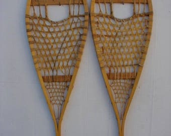Vintage Snowshoes 48x14 in very good condition!!! #27