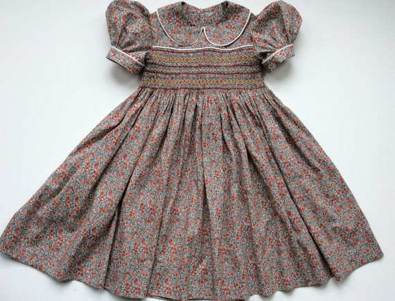 acd93fc2d45 Girls Liberty print floral summer party dress. Age 4-5. Girls