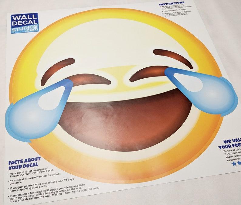 Large Emoji Wall Decal - 28