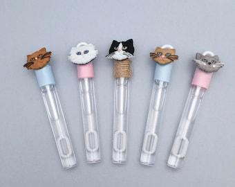 Cat Bubble Favors: Animal Party Favors, Cat Party Favors, Kitten Party Supplies