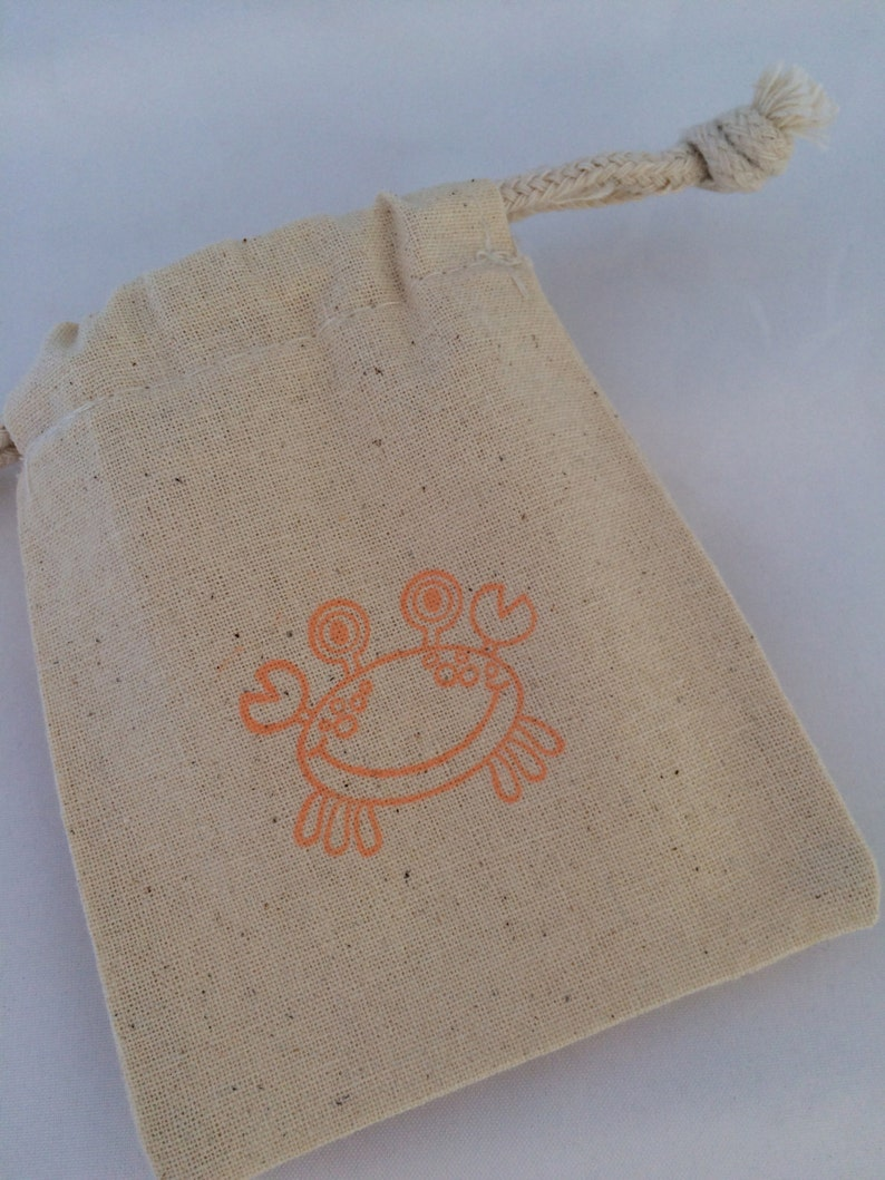Under the Sea Party Bags Crab and Lobster Design Favor Bag Under the Sea Party Supplies