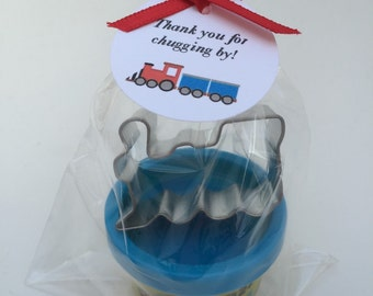 Train Party Favor: Train Theme Favor, Playdoh and Train Cutter Favor, Train Favor