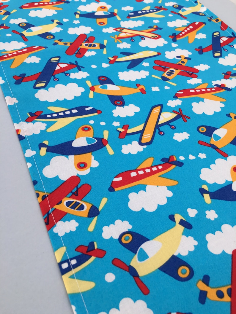 Airplane Table Runner Plane Accent Table Mat or Runner Ideal for an Airplane Party or Plane Party Table Centrepiece