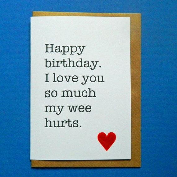 Herzlichen Gluckwunsch Zum Geburtstag Ich Liebe Dich So Sehr Etsy