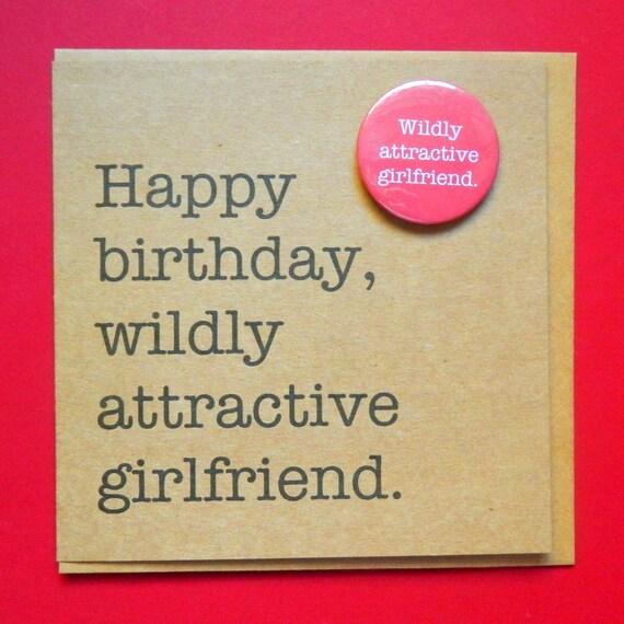 Alles Gute Zum Geburtstag Wild Attraktive Freundin Lustige Etsy