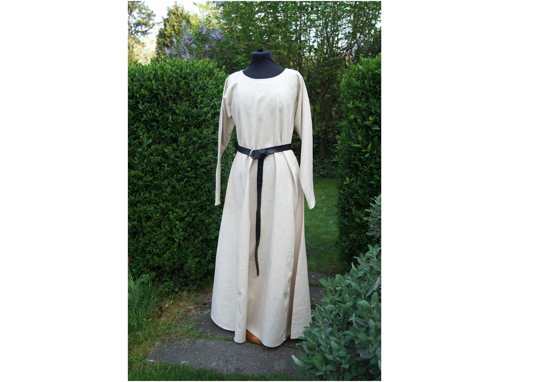 Basic Medieval Dress Black Or Beige LARP // Re-Enactment // Costume Red
