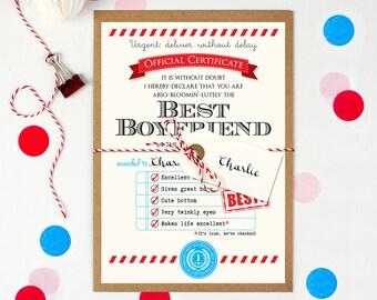 Birthday card boyfriend, Anniversary gift for boyfriend, Boyfriend gift, Boyfriend birthday card, Personalised gift for boyfriend