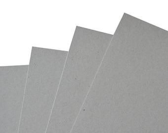 "Bookbinding Board - Medium Coverboard - 12.5"" x 8.5"" - Pack of 4"