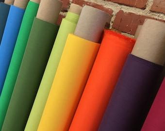 1/2 Yard Bookcloth - 50 color options