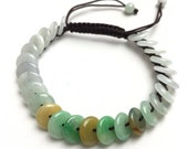 Certificated ICE Jade Grade A Green Natural Jadeite Hand carved Jade Round bead bangle Bracelet Chain Burma stone Armband string rope