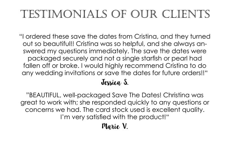 Unique Save The Dates Custom Save The Dates Beach Wedding Save The Dates Destination Wedding Save The Dates Save the Date Wedding Cards
