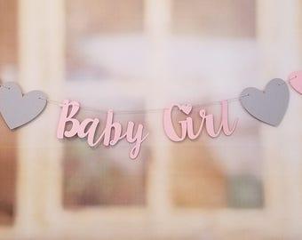 sweet baby girl banner it s a girl baby shower banner etsy