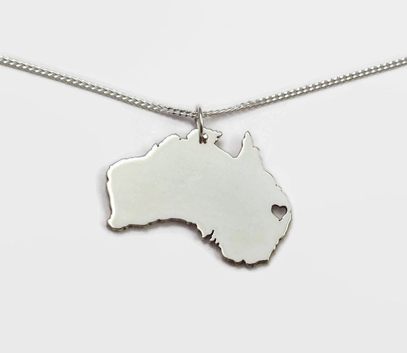 Sterling Silver Australia Necklace image 0